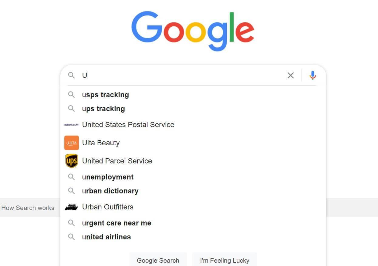 Google Search Predicting