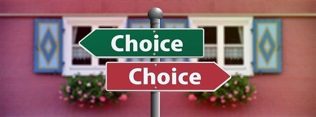 Choice Over Effort
